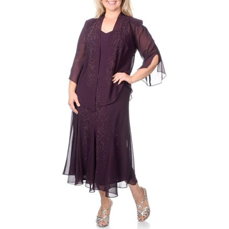 Rm Richards Plus Size Long Formal Mother Of The Bride Dress Made In