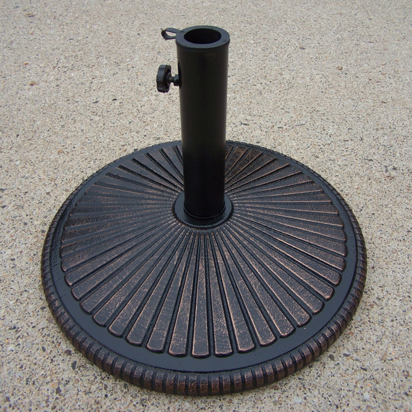 Oakland Living Center Burst Heavy Duty Cast Iron Multiuse Umbrella Stand by Oakland Living