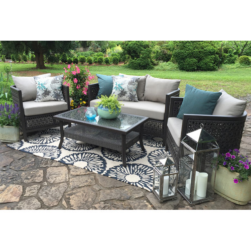 ae outdoor carlsbad 4 piece seating group with cushions walmart com rh walmart com patio furniture near carlsbad ca outdoor patio furniture carlsbad