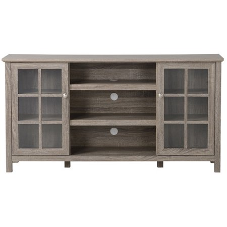 Provence Laminated Wood Media Console for TVs up to 65″ in Reclaimed Wood