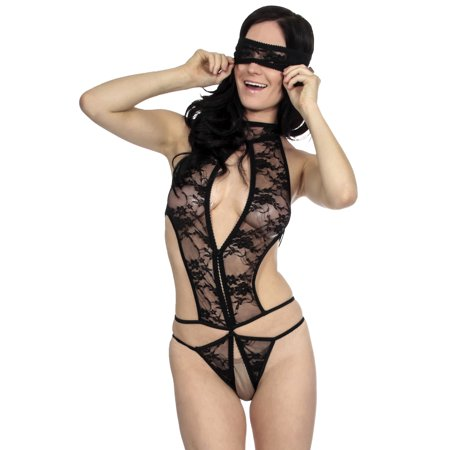 Simplicity Hot Sexy Lace Babydoll Teddy Lingerie (Hot Aexy)