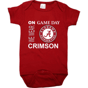 Alabama Crimson Tide On Game Day Baby Onesie