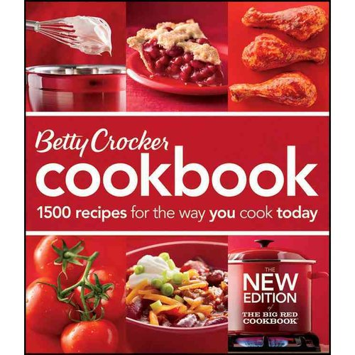 Betty Crocker Cookbook: 1500 Recipes for the Way You Cook Today