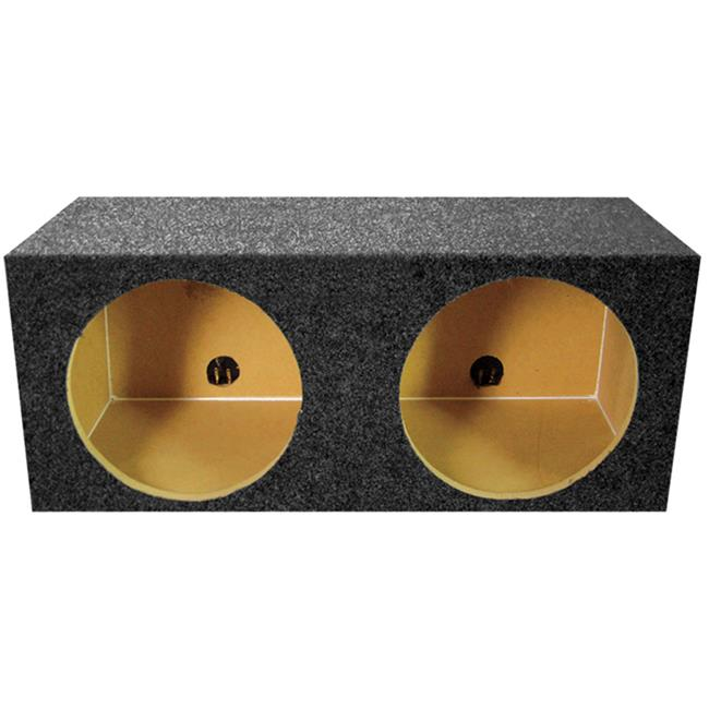Qpower QPSQ15E 15 in. Square Empty Woofer Box