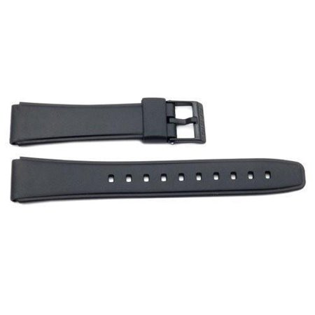 Genuine Casio 17mm Replacement Watch Strap Band for Casio Watch W-78-1V (17mm Watch Band)