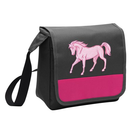 Horse Lunch Bag for Girls or Women Stylish Horse Theme Lunchbox Cooler for School or - Horse Themed School Supplies