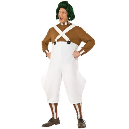 Men's Deluxe Oompa Loompa Costume - Oompa Loompa Costume Toddler