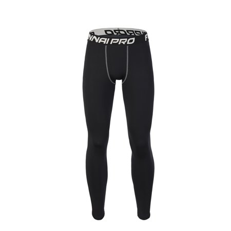Fitness Sportswear Tights Trousers Basketball Running Trainning Compression Pants Springy Quick Drying Sweat-Free
