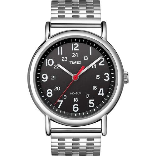 Timex Unisex Weekender Watch, Stainless-Steel Bracelet