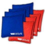 Tailgate Toss Bean Bag Backyard Red  & Blue