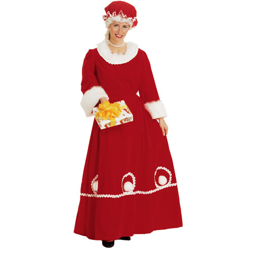 Mrs. Santa Adult Suit Costume