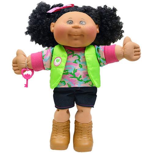"Cabbage Patch Kids 14"" Girl, Caucasian, Brunette"
