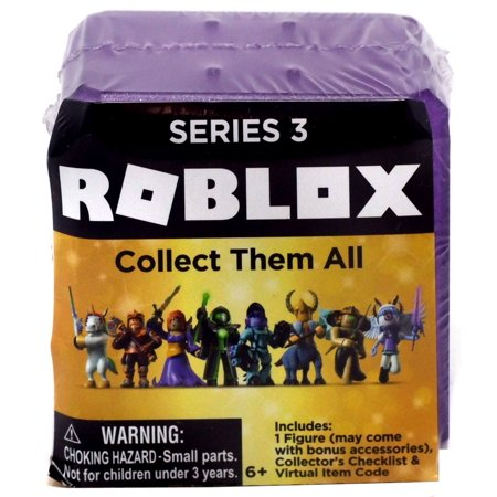 - Roblox GOLD Series 3 (Celebrity Collection) Mystery Pack