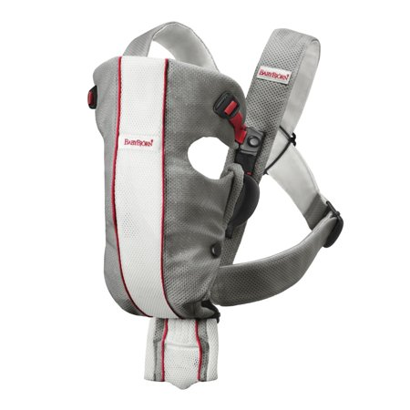 BabyBjorn Baby Carrier Original - Gray/White, Mesh