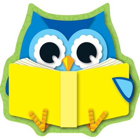 Reading Owl Mini Cut-Outs - Reading Owl