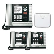 Vtech ErisBusinessSystem UP416 Telephone Console with UP406(2-Pack) Desksets