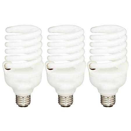 Sunrise General Purpose 150 Watt 2680 Lumens 120V Spiral Light Bulb 3 Pack