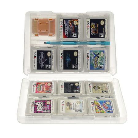 Insten 24-in-1 Game Card Case For Nintendo NEW 3DS / 3DS / DSi / DSi XL DSi LL / 3DS XL LL / DS / DS Lite NDS Game Storage Holder White - image 5 de 10