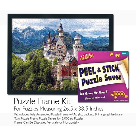 Puzzle Presto! Peel & Stick Puzzle Saver: The Original and Still the Best Way to Preserve Your Finished - Make Your Own Puzzles