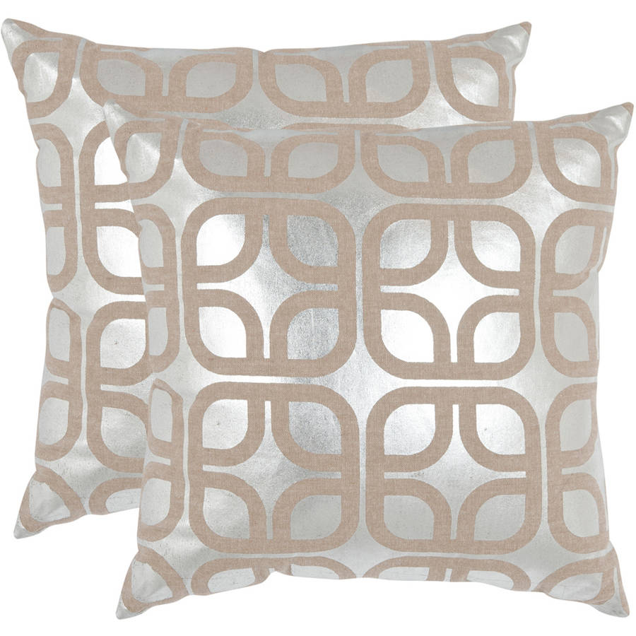 Safavieh Cole Pillow, Set of 2