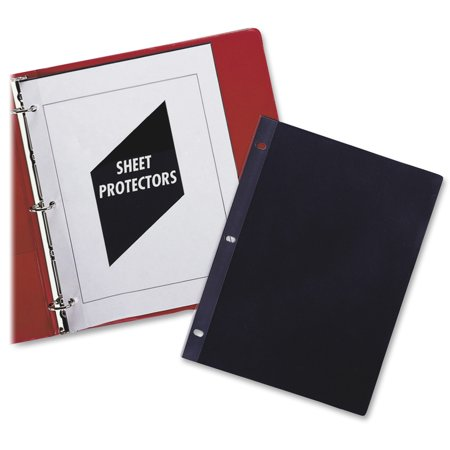 C-Line Traditional Polypropylene Sheet Protector, Heavyweight, 11 x 8 1/2, 50/BX