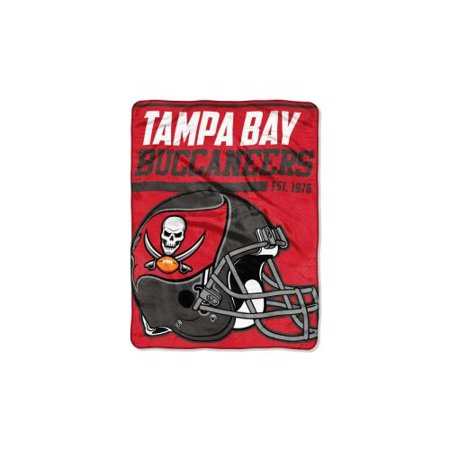 "NFL Tampa Bay Buccaneers ""40-Yard Dash"" 46""x 60"" Micro Raschel Throw](Tampa Bay Nfl)"