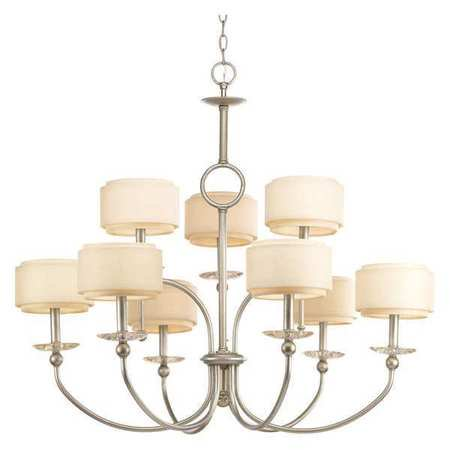 Ashbury Collection Nine-Light, Two-Tier Chandelier