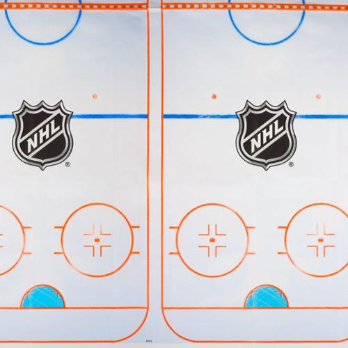 Nhl Hockey Plastic Table Cover (Each) - Party Supplies