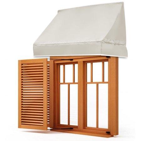 Gymax Window Awning Door Canopy Sun Rain Shade Shelter