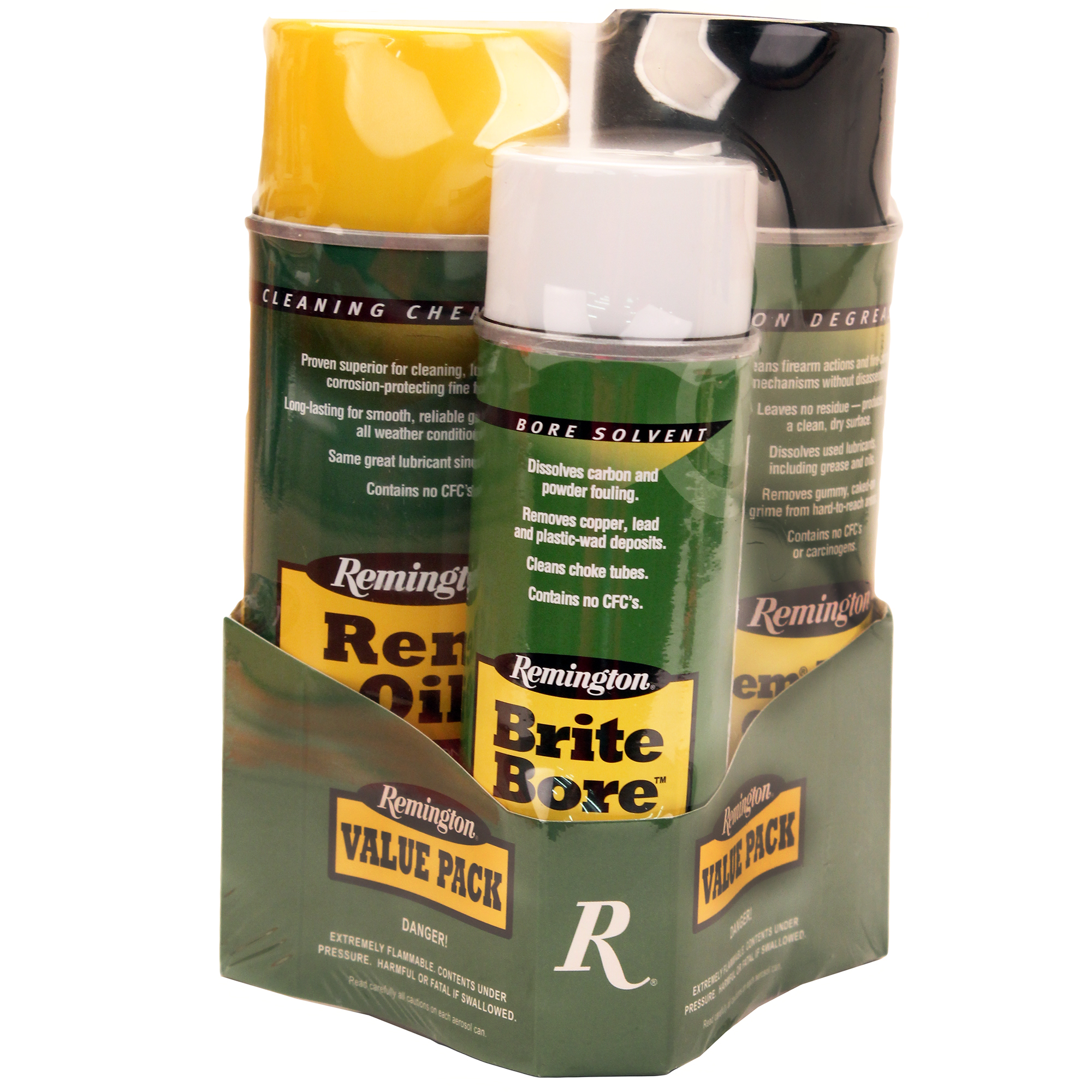 Rem Oil, Brite Bore, 10 oz. aerosols