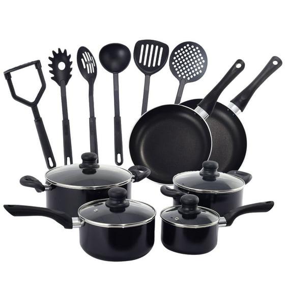 Kitchen Pots And Pans: Costway 16 Piece Non Stick Cooking Kitchen Cookware Set