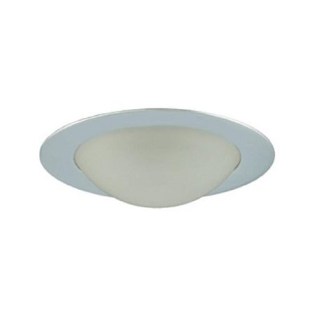 Jesco Lighting TM315CH Aperture Low Voltage Shower Trim with Frosted Dome Chrome Finish 3 in. - image 1 of 1