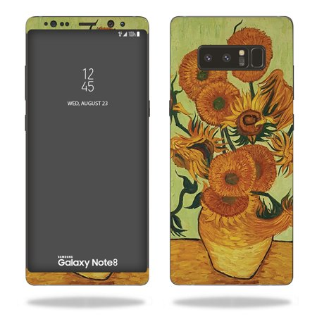 Skin Decal Wrap for Samsung Galaxy Note 8 Van Gogh Sunflowers