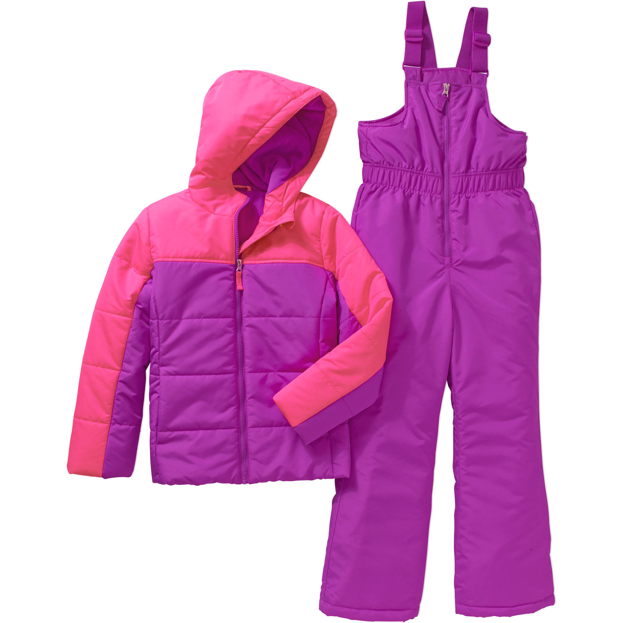 Girls' Performance Ski Bib and Coat 2 Piece Set