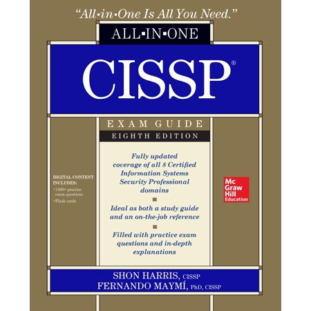Cissp All-In-One Exam Guide, Eighth Edition (Best Cissp Study Guide)