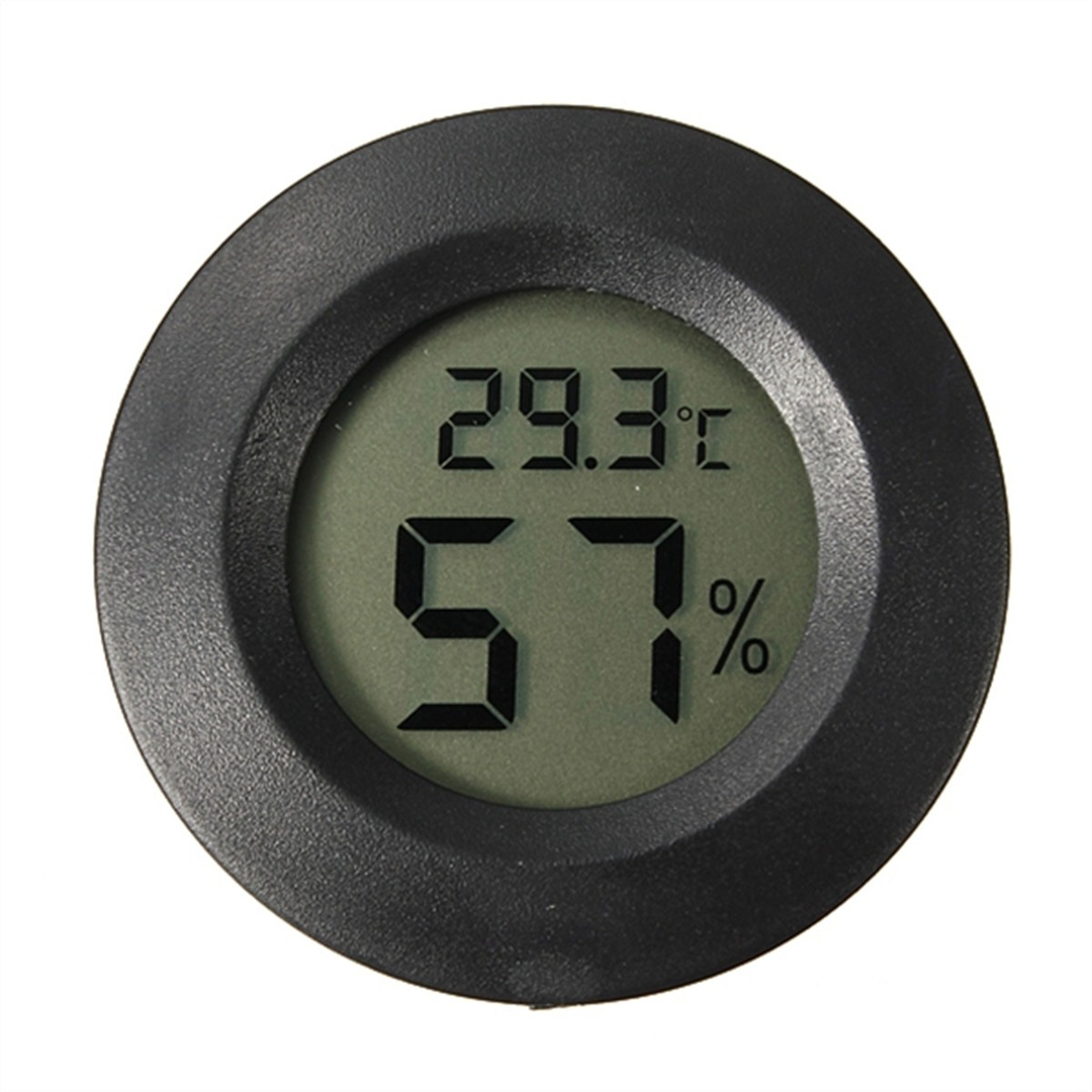 Elfeland Round Mini LCD Celsius Digital Thermometer Hygrometer Temperature Humidity Meter... by