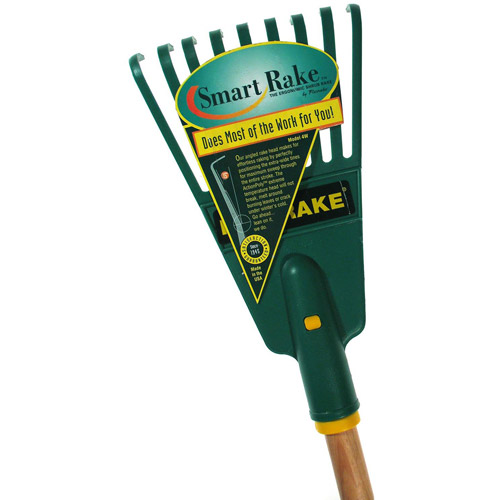 Flexrake 4W 48 in Handle 7 in Action Poly Head Shrub Rake