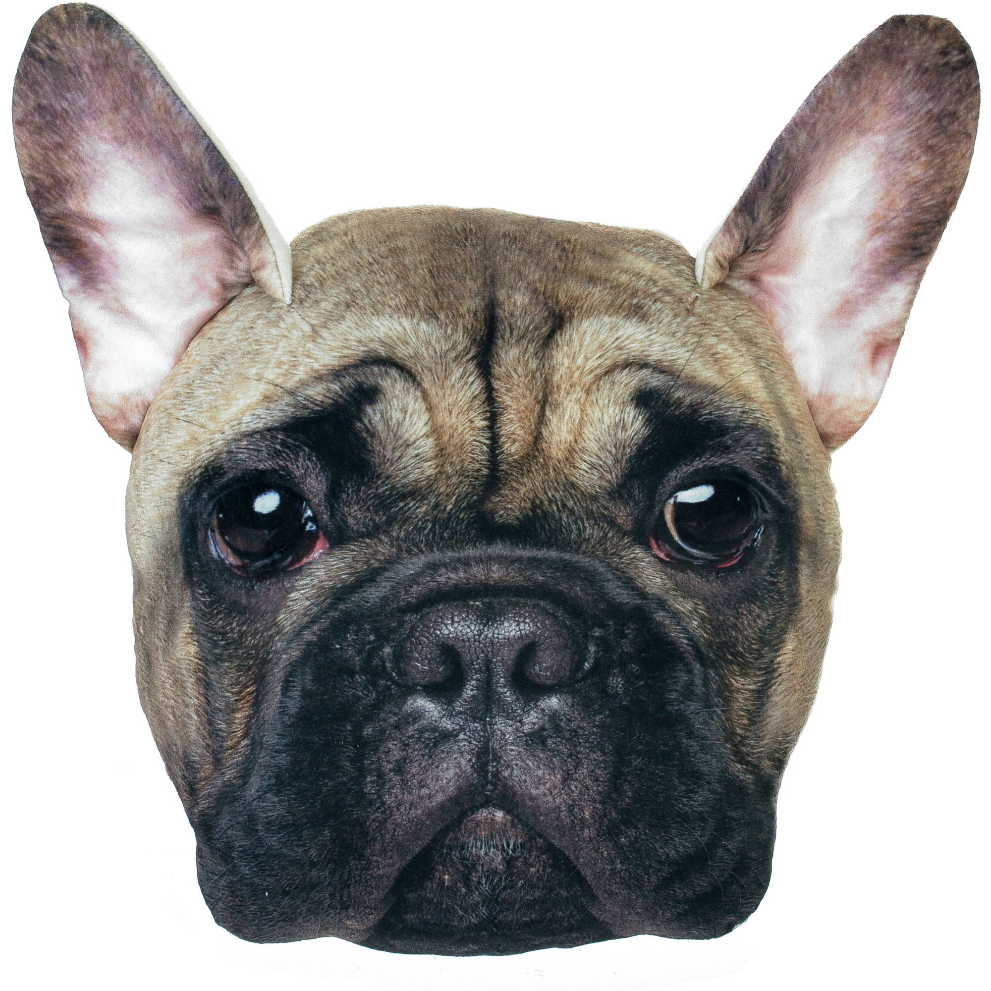 Bulldog Plush PhotoReal Pillow