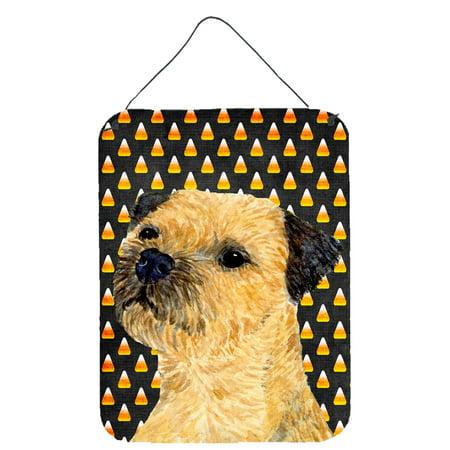 Border Terrier Candy Corn Halloween Portrait Wall or Door Hanging Prints - Jcpenney Halloween Portraits