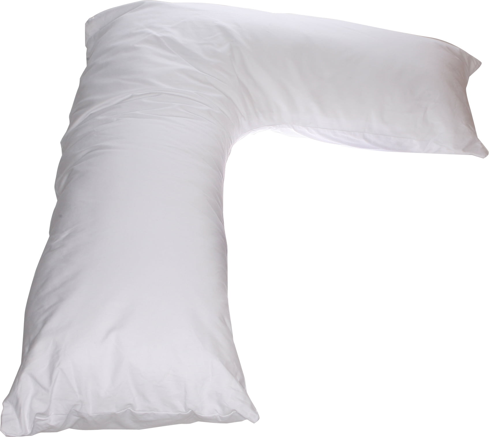 """Deluxe Comfort """"L"""" Side Sleeper Body Pillow (36"""" x 24"""") � Prenatal Pregnancy Pillow �... by Living Healthy Products"""