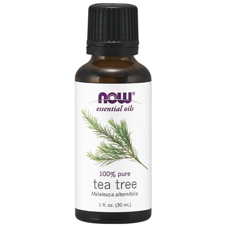 NOW Essential Oils, Tea Tree Oil, Cleansing Aromatherapy Scent, Steam Distilled, 100% Pure, Vegan, (Tea Tree Oil For Ear Infection In Toddler)