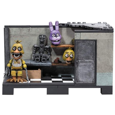 Dark Classic Series (Five Nights At Freddy's Classic Series Backstage 153-Piece Medium Construction)