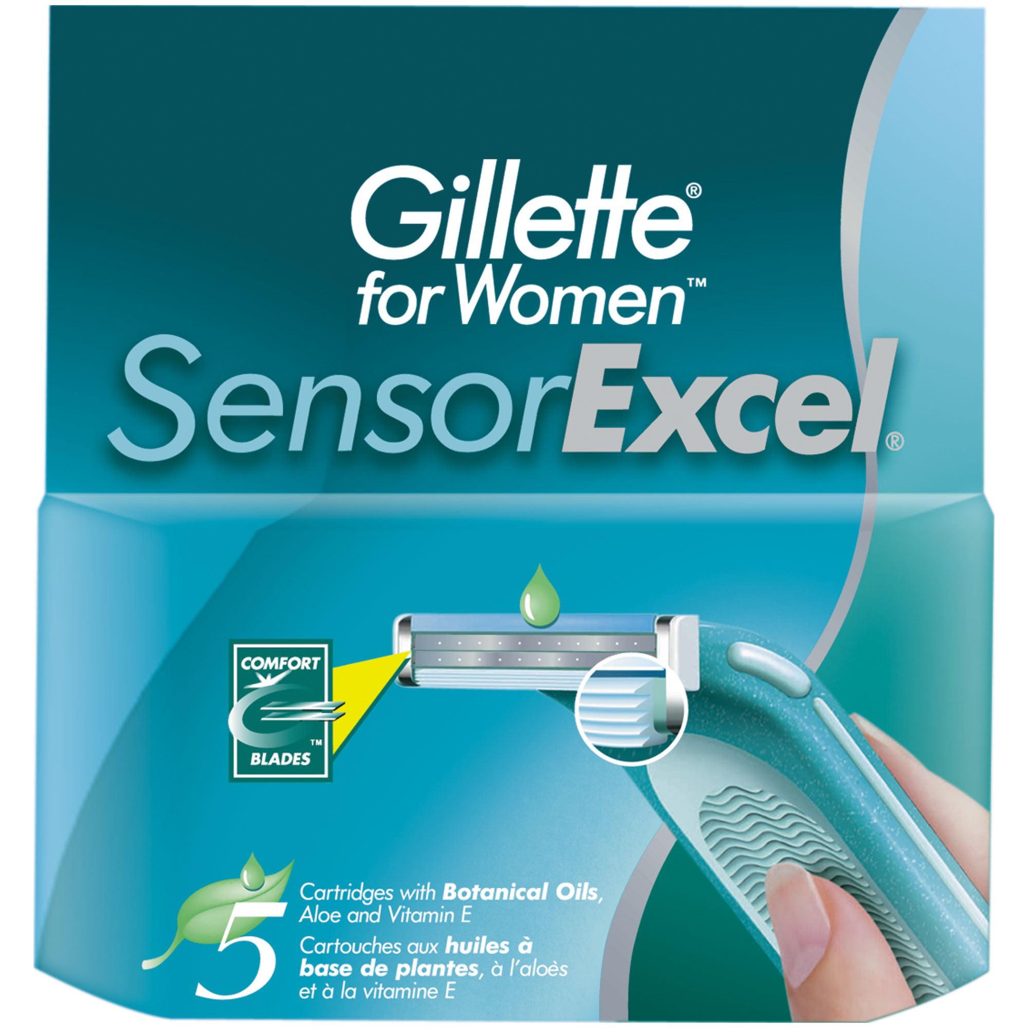 Gillette Sensorexcel Refills, 10 Ct