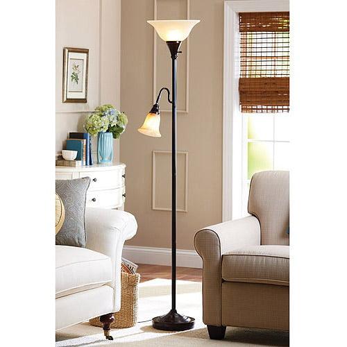 Better homes and gardens floor lamp combo bronze