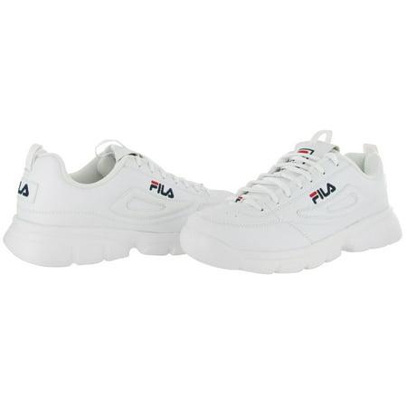 fila men's disruptor se training shoe, whitefila navyfila red, 8.5 m us