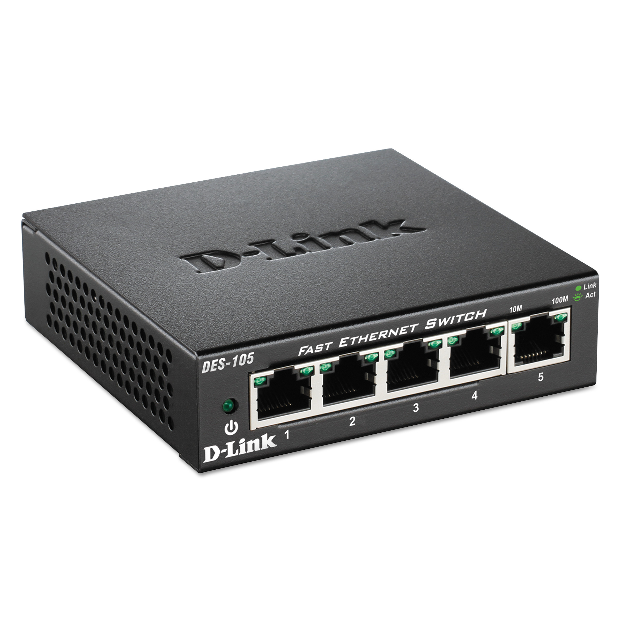 Click here to buy D-Link 5-Port Fast Ethernet Switch, Unmanaged by D-Link.