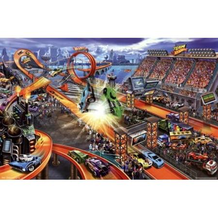 Hot Wheels Posters - Hot Wheels - Crash Poster Print