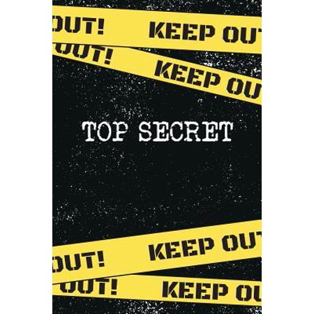 Top Secret: Things I Want To Say But Can't Journal - Full Of Secrets Writing Notebook - I Wished I Could Say Notebook - Book of Li (Top Things To Say To A Girl)