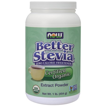 NOW Foods Better Stevia Powder 1 Lb