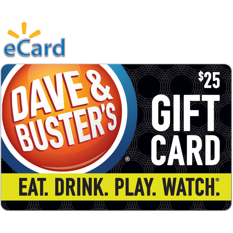 Dave & Buster's $25 Card (Email Delivery)